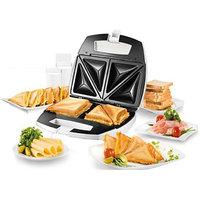 Nova 2 Slice Sandwich Maker Nsm 2412 Toast(White)