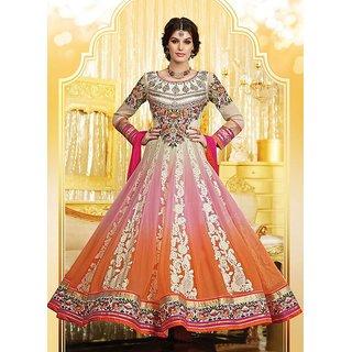 Shoponbit Exclusive New Embroidered Wedding wear Anarkali Suit