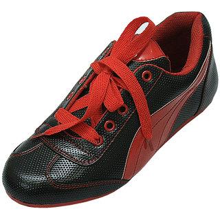 Select Black Red Women Sporty