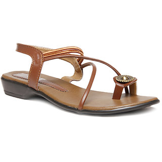 Select Womens Brown Sandal
