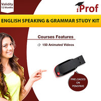 English Speaking & Grammar Study Kit On Pen Drive
