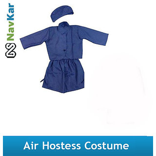 Air Hostess Costume For Kids Fancy Dress Costume For Kids
