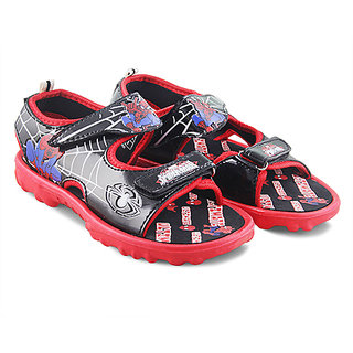 Spiderman Boys Red Sandals Bn1Csm07A