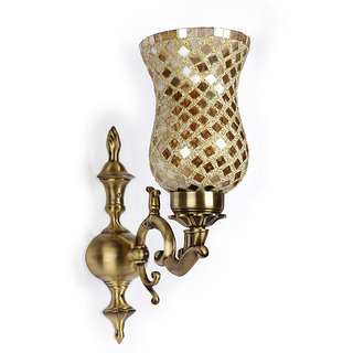 Baja Golden Royal Single Wall Light