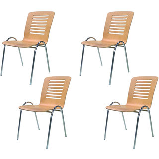 Mavi Cafe & Restaurant Chair (Set Of 4)- DVC-669C4