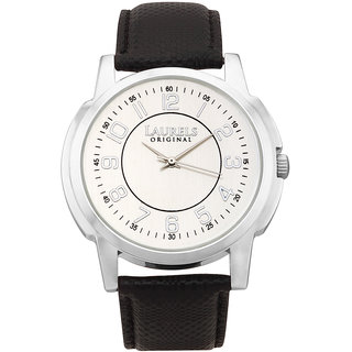 Laurels Original Men's Watch Lo-Ex-Silver