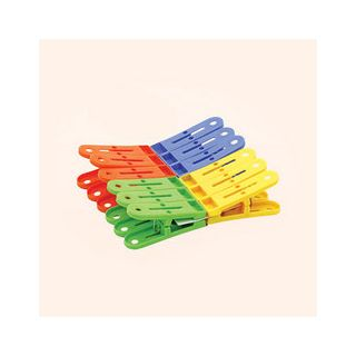 12pcs Plastic Cloth Clips