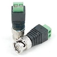 Bnc Connector For Cctv System 2 Pcs