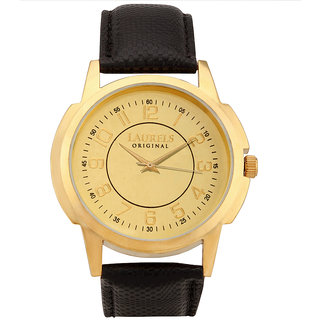 Laurels Original Men's Watch Lo-Ex-Gold