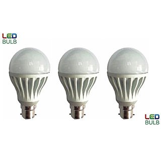 Combo Of Brio Led Bulb 8W (Pack Of 3)