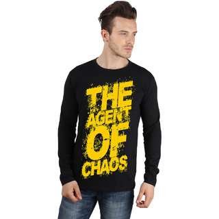 Agent Of Chaos Black Full Sleeve T-shirt