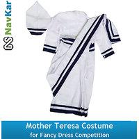 Mother Teresa Costume For Kids  Fancy Dress Costume for Kids