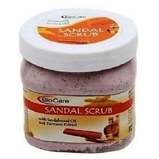 BioCare - SANDAL Face Scrub  Face And Body massage Scrub (500 ml) Best Offer