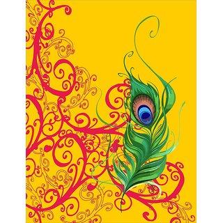 Mesleep Peacock Wings Canvas