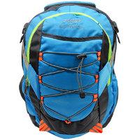 Donex Blue & Grey Color Stylish Light Weight 28 Litre Laptop Backpack RSC00668