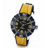 Av71ylw-Sor Yellow/Black Analog Watch