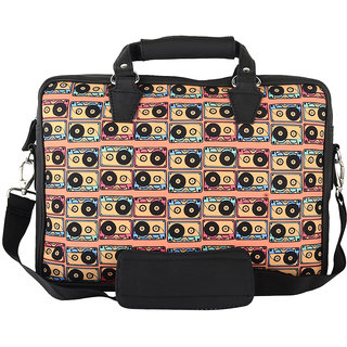 The Backbencher Cassettes Laptop Bag