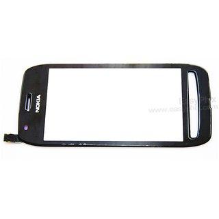 Original Touch Screen Digitizer Glass For Nokia Lumia 710 N710 - Black