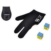JBB combo 1 (magnetic plastic chalk holder,gloves n two triangle chalks)