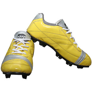 Port yellow THK football shoes