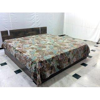 Cotton queen size bedsheet, By Bhavya international