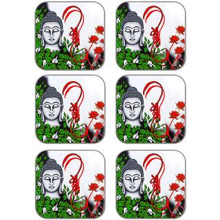 meSleep Saint Wooden Coaster-Set of 6