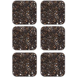 meSleep Roasted Seeds Wooden Coaster-Set of 6