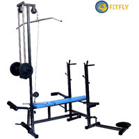 Fitfly Brand New 20 In 1 Bench 2x2 Pipe Size Best Quality Multi Exercise
