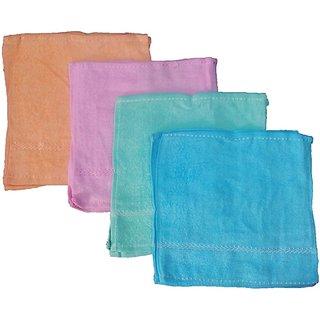 Premium Quality Multicolor Face towel set of 10