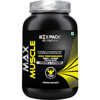 Six Pack Nutrtion - Max Muscle-1Kg-Banana
