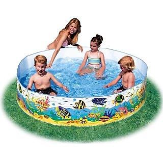 Intex Underwater Fun Swimming Pool- 8 Feet