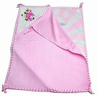 Beautiful Baby Bed sheet -2 sheets in one