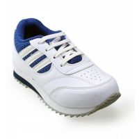 Advice Boys BluWht Canvas Shoes NW-05