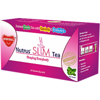 NUTRUS Slim Tea 20'sachets (Mint)Pack Of 3