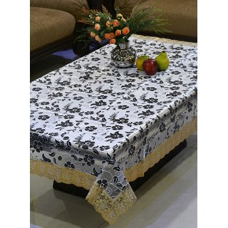 FREELY 3-D PRINTED DINING TABLE COVER FOR 6 SEATERS - 407A