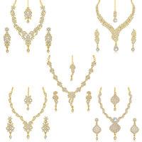 Sukkhi Incredible 5 Pieces Necklace Set Combo