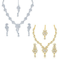 Sukkhi Intricately 2 Pieces Necklace Set Combo