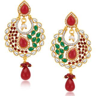 Sukkhi Royal Gold Plated Earrings