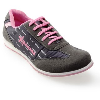 Advice Women GrayPink Canvas Shoes 518