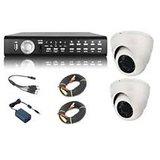 CCTV System With Four Cameras