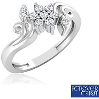 Forever Carat Real Diamond Ring In 100% Certified 925 Sterling Silver [CLONE]