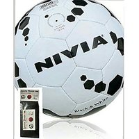 Nivia Black And White Football Size-5 at Lowest Price