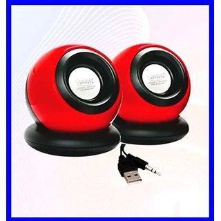 Quantum-QHM620-Round-Portable-USB-Powered-Speakers-2.0-|