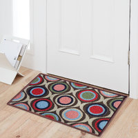 Status Multicolor Nylon Door Mat ( 15X22 Inch)