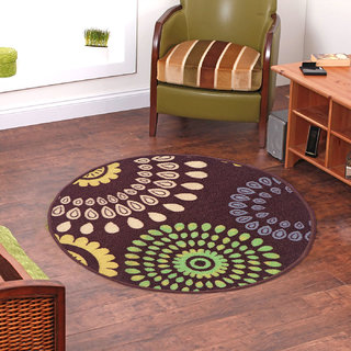 Status Multicolor Nylon Rugs  30X30 Inch available at ShopClues for Rs.489