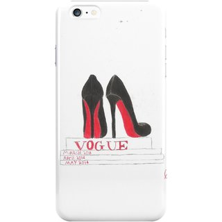 The Fappy Store Louboutins And Vogue Plastic Back Cover For Iphone 6 Plus