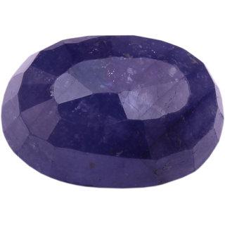 Akash Ganga NATURAL 11.31 Ratti Blue Sapphire (Neelam), High Class Quality