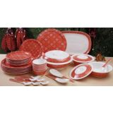 Bandhini dinner set -34 pcs