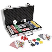 Diced poker chipset with printing