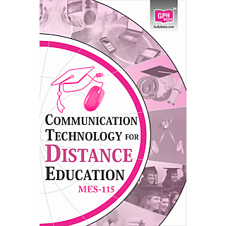 MES115communicationtechnologyforDistanceEducation(IgnouhelpbookMES115inEnglish)